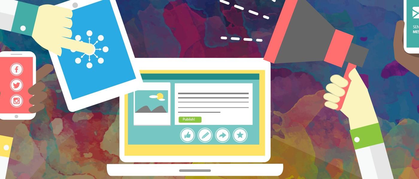 blog wp sincronizado con redes sociales