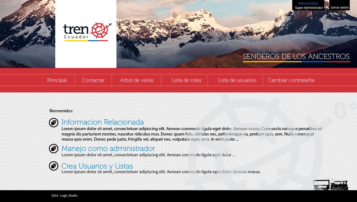 interfaz2 Menu de Opciones SuperAdministrador
