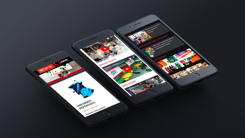 maletec website moviles