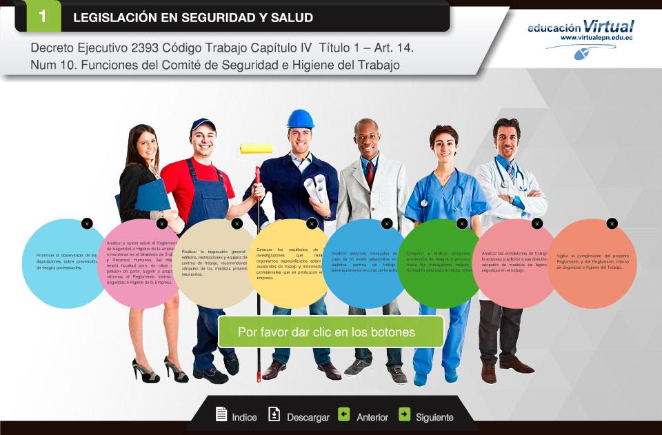 seguridad y salud ocupacional comite