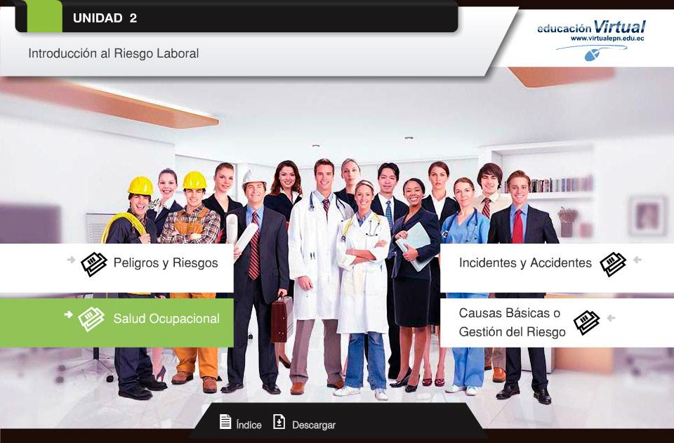 seguridad y salud ocupacional riesgo laboral