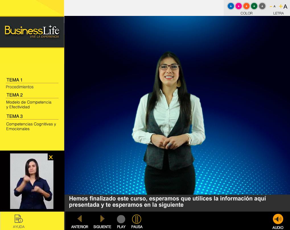 competencia efectividad video presentadora 1