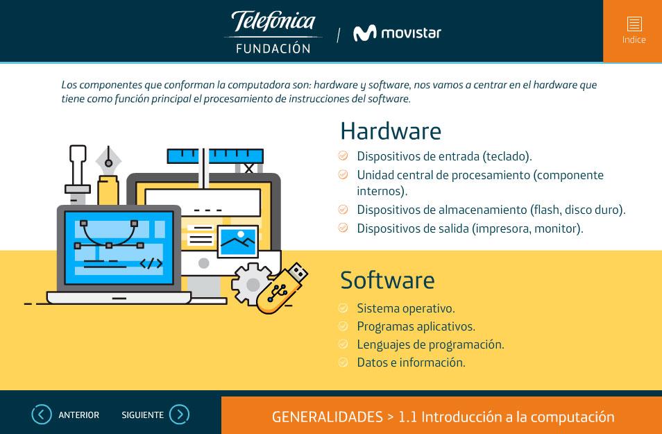elearning curso help desk telefonica ecuador hardware software