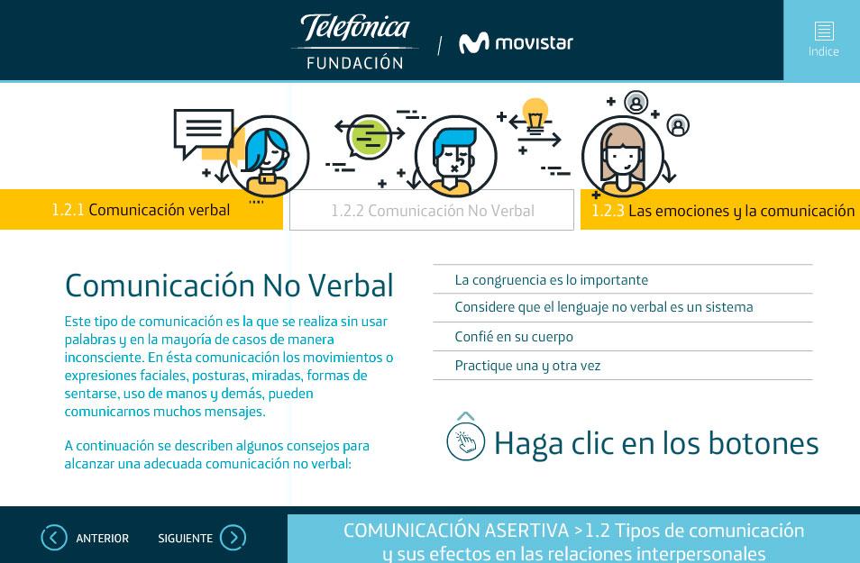 elearning habilidades socioemocionales telefonica quito comunicacion no verbal