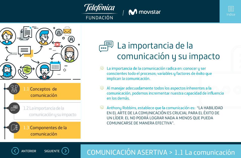 elearning habilidades socioemocionales telefonica quito importancia comunicacion
