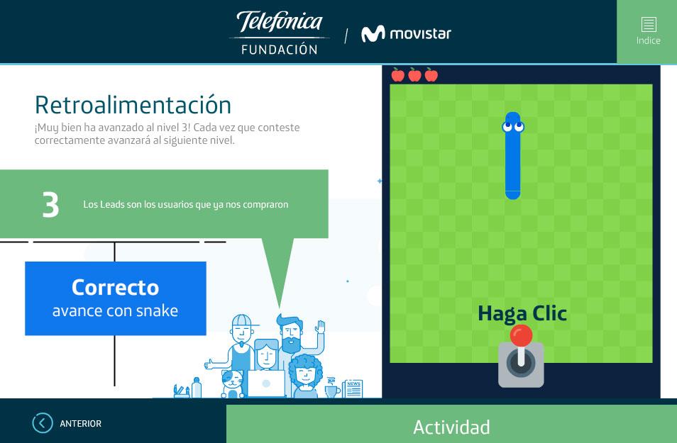 elearning marketing digital fundacion telefonica quito plataformas digitales gamificacion