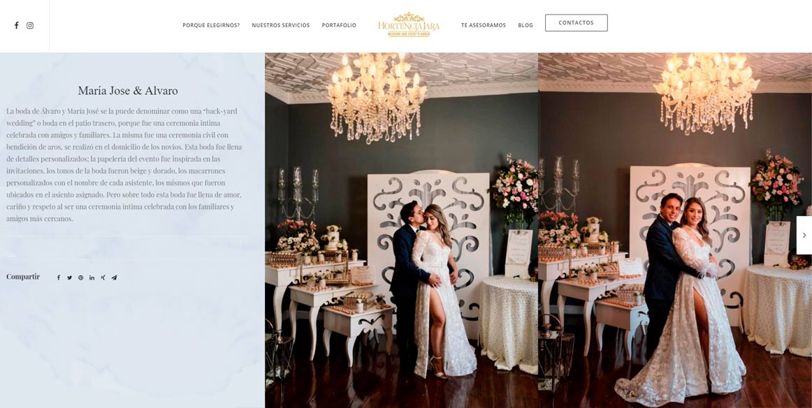 hortencia jara portafolio bodas ecuador
