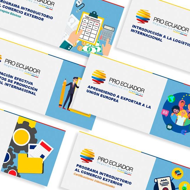 portada cursos elearning ministerio de produccion ecuador