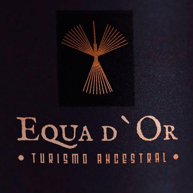 portada turismo ancestral logotipo imagen corporativa quito ecuador